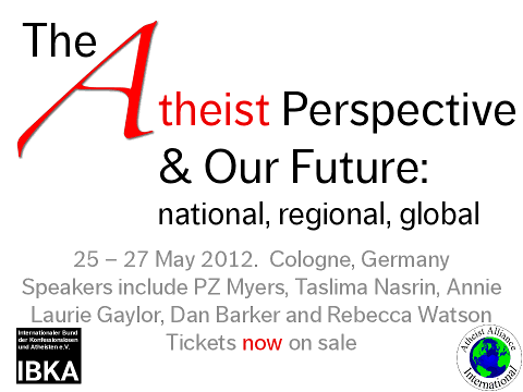 The 2012 European Atheist Convention