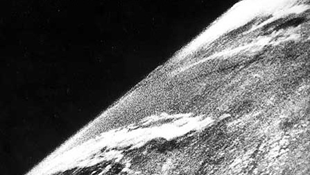 "This Week Under ""Spotlight"": The History Behind The First Photo From Space"